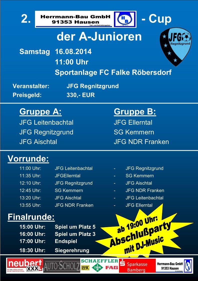 Herrmann-Bau A-Jugend Cup 2014